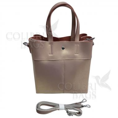 Женская кожаная сумка Sven. Бежевый