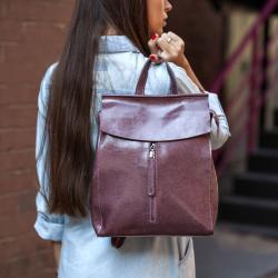 Женские рюкзаки  <br> из кожи