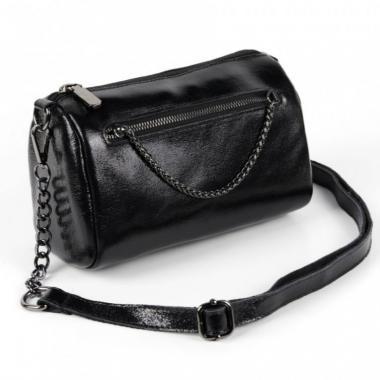 Женская кожаная сумка TATTO.Черный