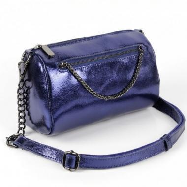 Женская кожаная сумка TATTO.Сапфир