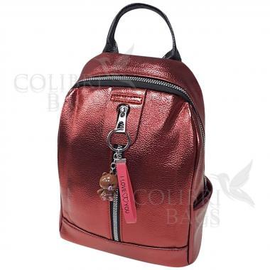 Рюкзак Teddy. Красный перламутр