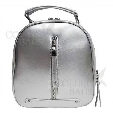 Рюкзак-трансформер Teo. Светлое серебро