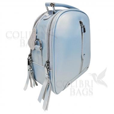 Рюкзак-трансформер Teo. Голубой перламутр