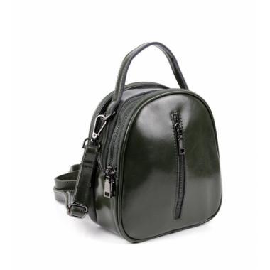 Рюкзак-трансформер Teo Neo. Темно-зеленый