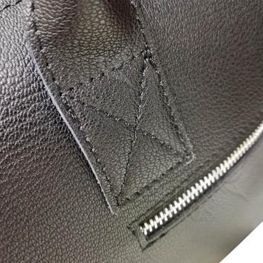 Женская кожаная сумка Vega Diplomat. Серебро