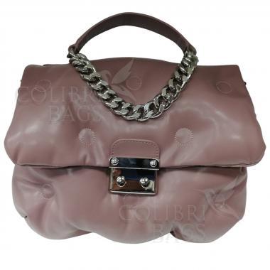Женская стеганая сумка XINTY. Лиловый.