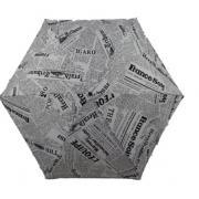 Зонт ZZH-0091 Газета. Белый