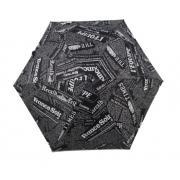 Зонт ZZH-0091 Газета. Черный